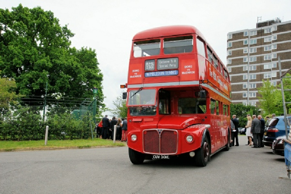 Routemaster Driver Team Clippy Wedding Special RM 2301